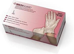 Medline Mediguard Powder-Free Vinyl, Large, 150 Count