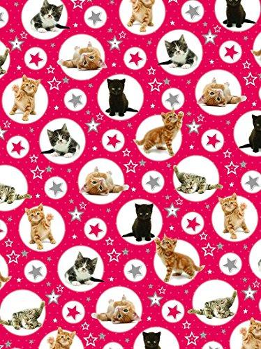 Geschenkpapier Weihnachten - Twinkle Kittens