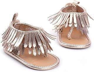Sandals,Kimanli Baby Infant Kids Soft Sole Crib Toddler Newborn Tassels Shoes