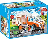 Playmobil 70049 City Life Poussette avec lumière et Son Multicolore