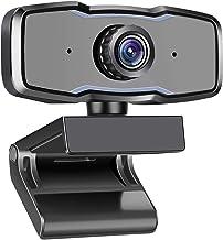 Webcam with Microphone | 1080P HD Web Cam USB Webcam for Computers Web Cam with Mic Desktop Web Camera Laptop USB Video Ca...