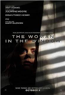 Kvinnan i fönstret Het filmomslag affisch Kanvasduk Wall Art målning för vardagsrum Heminredning gåva -60x80cm Ingen ram