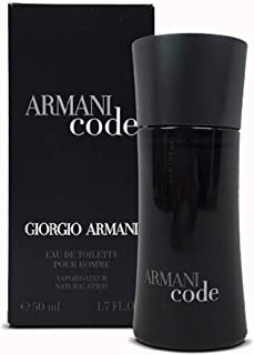 Giorgio Armani Code Eau de Toilette Spray for Men, 50ml