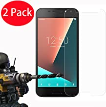 2 Pack - Vodafone Smart N8 Tempered Glass, FoneExpert Tempered Glass Crystal Clear LCD Screen Protector Guard & Polishing Cloth For Vodafone Smart N8