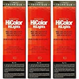 L'Oreal Excellence HiColor HiLights RED Permanent Hair Tint HC-05102 (3 Pack)
