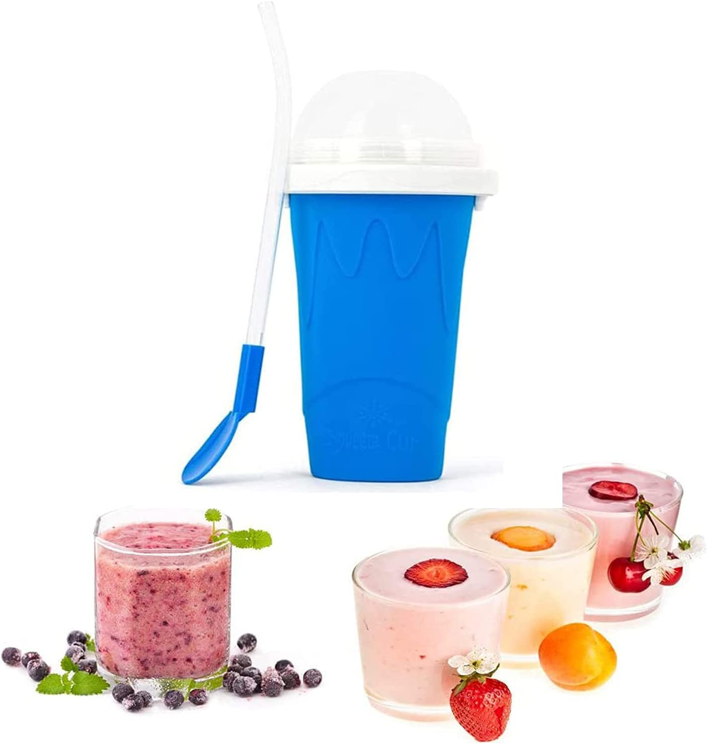 ZHONGPIN Slushie Maker Cup Squeeze Kids Max Luxury 66% OFF M for