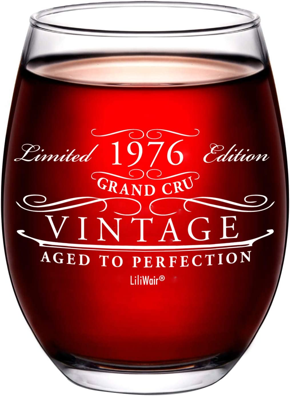 Max 44% OFF 1976 45th Birthday Trust Gifts Wine Women Gift Glass fo Men