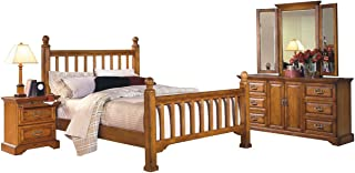 Best honey oak sleigh bed Reviews