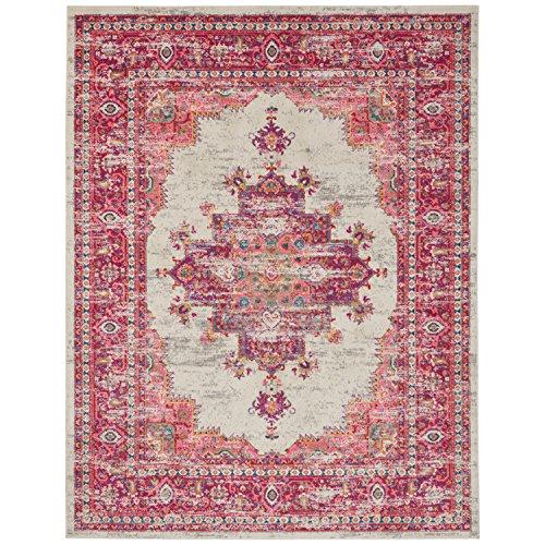 Marca de Amazon - Movian Osam, alfombra rectangular, 175,3 de largo x 114,3 cm de ancho (diseño geométrico)