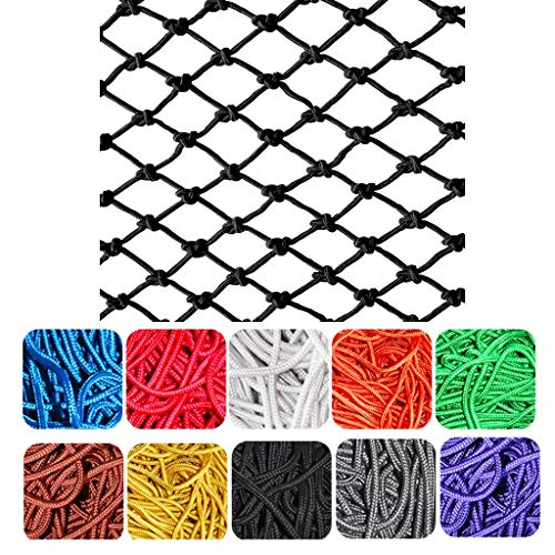 Great Deal! Plant Climbing Net, Black Family Restaurant Playground Clothing Store Wall Ceiling Decor...