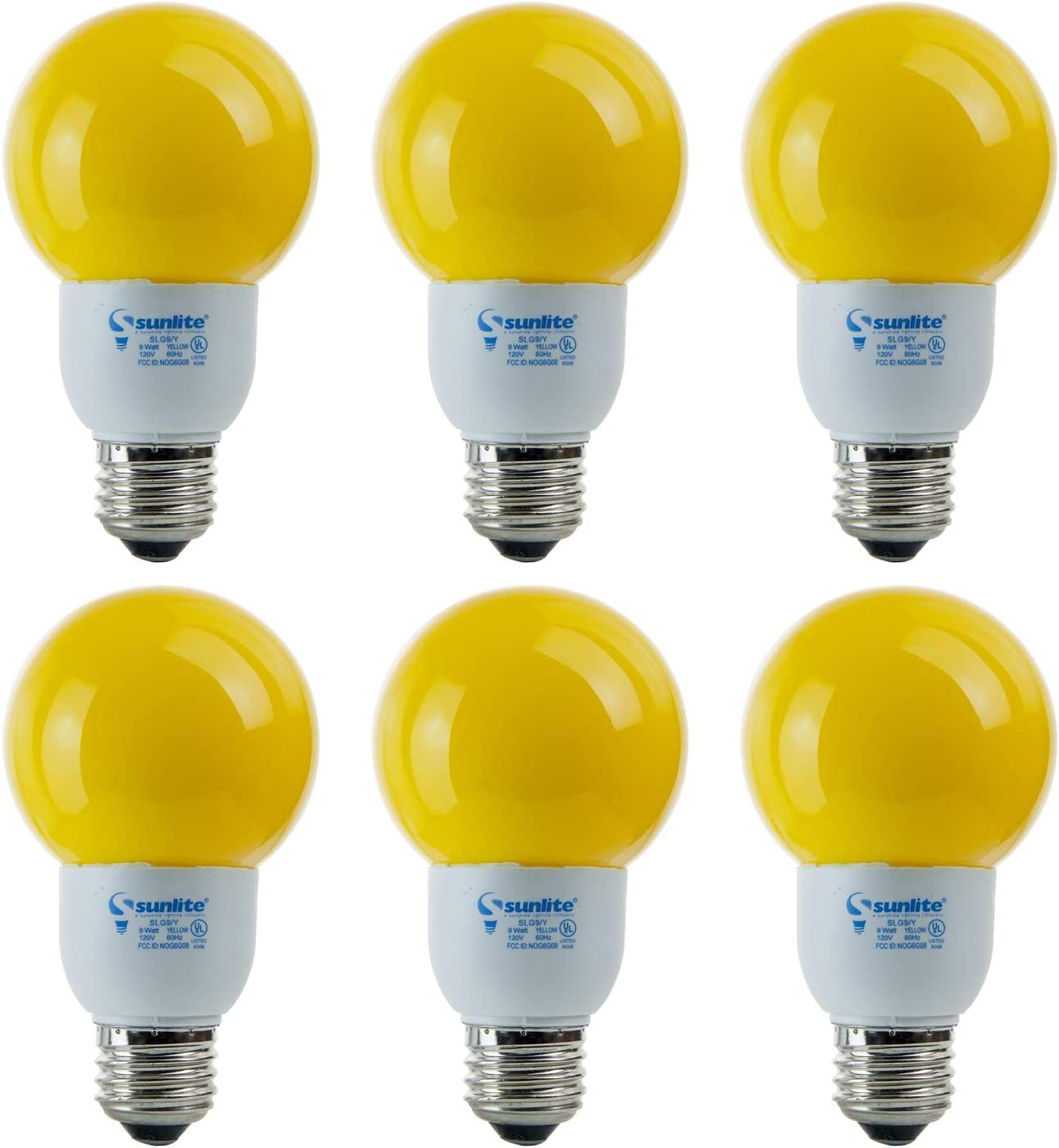 Sunlite 41512-SU CFL G21 OFFicial mail order Discount is also underway Colored Watts 9 40 Bulb Globe