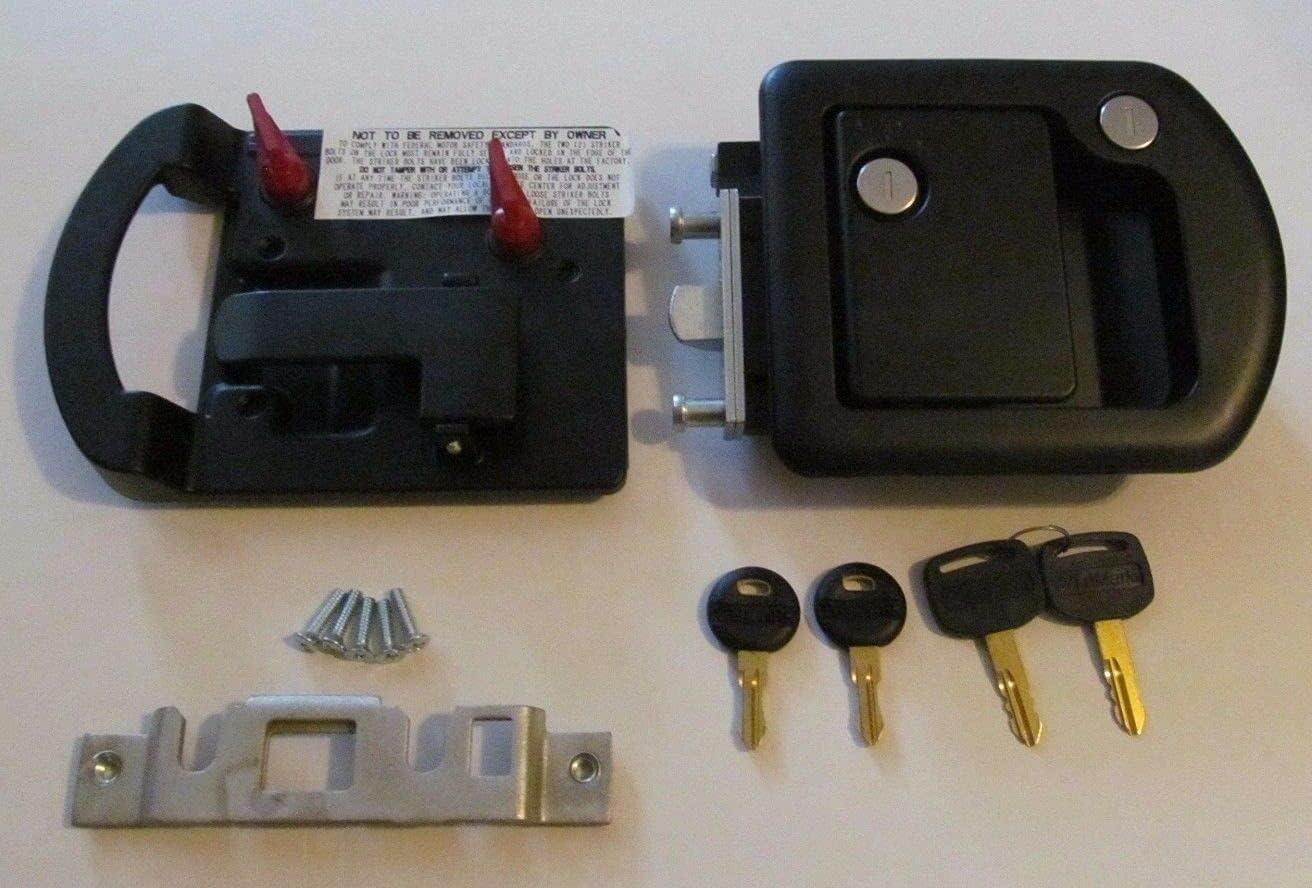 RV Motorhome Entry Door Lock Steel 060-0650 Industry No. 1 Popular brand Bolt Dead Plunger