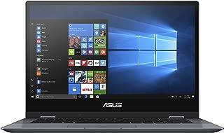 Asus VivoBook Flip 14 TP412UA-EC123TS Convertible Laptop (Gray) -Intel Core i3 7030U ,128 GB SSD,4 GB RAM, 14.1 Touchscreen,Windows 10S , Eng-Arb-KB