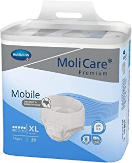 MoliCare Mobile Underwear, Extra, X-Large, Case/56 (4/14s)