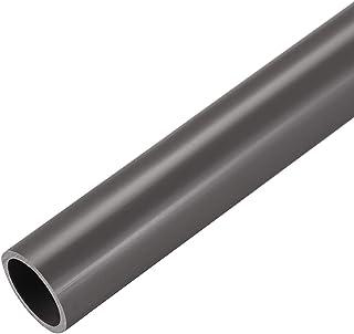 comprar comparacion sourcing map Tubería redonda rígida de PVC, 21mm ID x 25mm OD, de 0,5 metros / 1,64 pies de longitud, gris