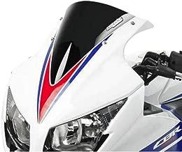 Hotbodies Racing 15-18 Honda CBR300R Windscreen (Stock Height) (Solid Black)