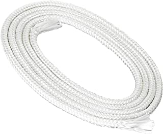 Mecha de fibra de vidrio NKlaus redonda, diámetro de 4 mm, para luz de fusión (longitud a elegir: 1 m – 10 m), lámpara de aceite, para aceite de lámpara limpio, aceite de parafina