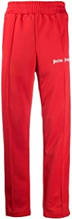 Luxury Fashion | Palm Angels Men PMCA007E20FAB0012901 Red Polyester Joggers | Autumn-winter 20