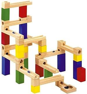 積み木 ビー玉転がし 木製 おもちゃ NO01