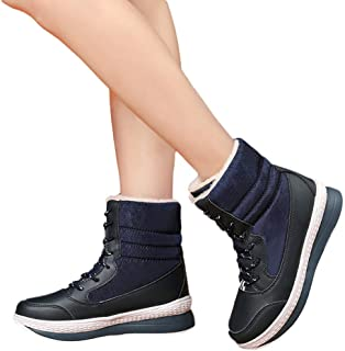 Outtop(TM) Womens Snow Boots Ladies Winter Warm Mid-Calf Platform Boots