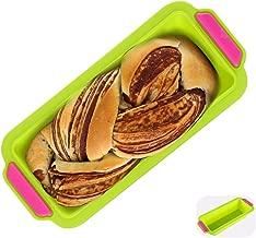 1 K/önigskuchenform 27,5cm ; 1 Kleines Kastenform 15,5cm; 5 Muffinform f/ür 5 Muffins Ihomepark Backform Set 3-teiliges Kuchenform aus Silikon Antihaft Brotbackform