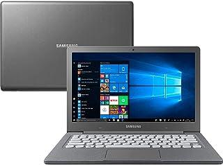 """Notebook Samsung Flash F30 Intel Celeron , 4GB RAM,  64GB SSD , Tela Full HD 13.3"""",  Windows 10 - Cinza"""
