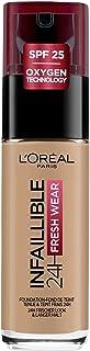 L'Oréal Paris Infaillible 24H Fresh Wear Make-up 150 Beige Eclat, hoge dekking, langdurig, waterbestendig, ademend, 30 ml
