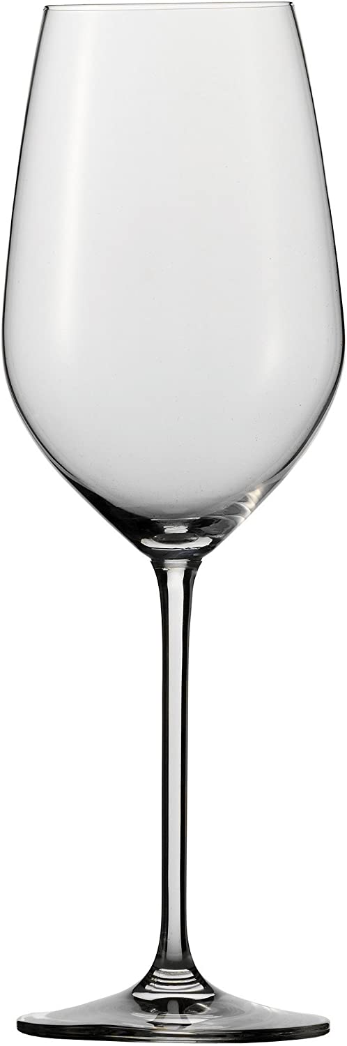 Schott Zwiesel Stemware Fortissimo Collection Tritan Crystal Bordeaux, Red Wine Glass, 22-Ounce, Set of 6