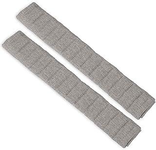 طقم غطاء وسادة حزام مقعد السيارة 13 بوصة حزام حزام حزام مقعد الكتف حزام مقعد الكتف للسيارة/الحقيبة (رمادي)