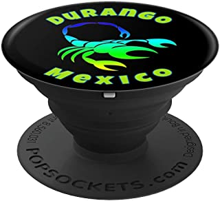 Durango Mexico Multi Colored Scorpion Mascot - PopSockets Grip and Stand for Phones and Tablets