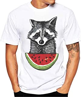 MISYAA White T Shirts for Men, I Need Coffee Tee Shirt Short Sleeve Sweatshirt Muscle Tank Top Pals Gifts Mens Tops