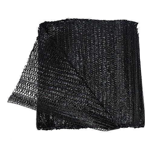 40% Black 10'x10' Sun Mesh Shade Sunblock Shade UV Resistant Net for Garden Flower Plant