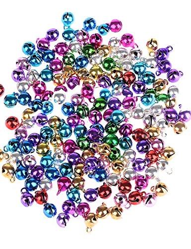 Multicolor para con cascabeles/pequeño Bell/timbre miniatura para bicicletas/astrosamente para de Navidad 100...