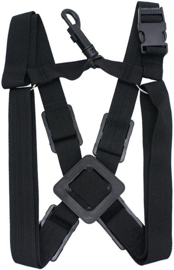 Professional Low price shipfree Saxophone Strap Adjustable Double Stra Shoulder Sax