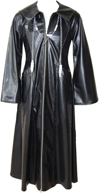 Kingdom Hearts Kostüm Halloween Rollenspiel Cosplay Mantel Jacke für Erwachsene