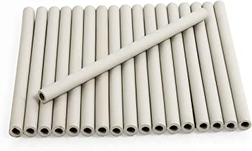 """Zljiont Replacement Gas Grill Ceramic Radiants, BBQ Grill Ceramic Rods for DCS Heat Plates, for DCS Grill 245398, DCSCT, 9.5"""" Long (18)"""