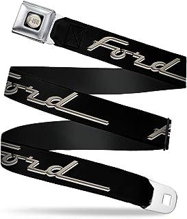 Buckle Down Mens Seatbelt Belt Mustang Wfm025 Buckle-Down
