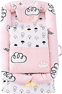 Travel Cot Portable Child Baby Travel Cot Travel Cot Mosquito Net Cotton Travel Bed