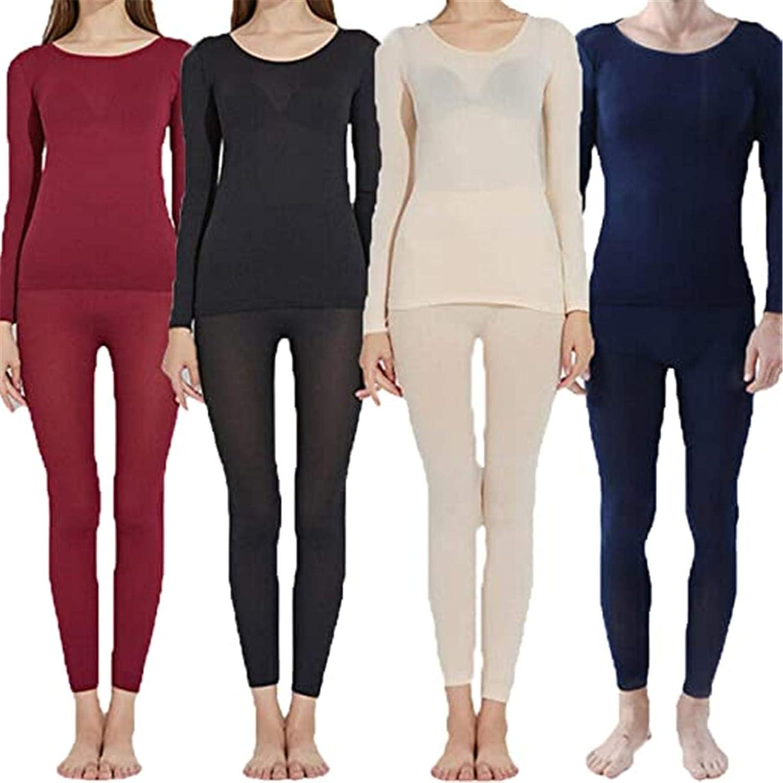 TIFALEX Seamless Elastic Thermal Innerwear Suit, Thermal Underwear for Men and Women