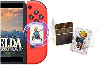 Newest Version 24Pcs The Legend of Zelda Breath of The Wild NFC Cards, Link's Awakening Zelda Botw Game Rewards Cards. Compatible with Switch/Lite Wii U.