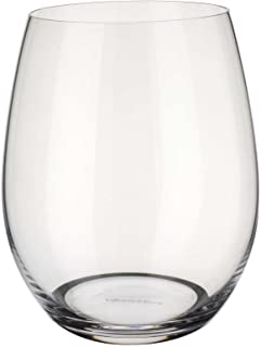 Villeroy & Boch 1136587826 Entree Stemless White Wine (Set of 4), Clear