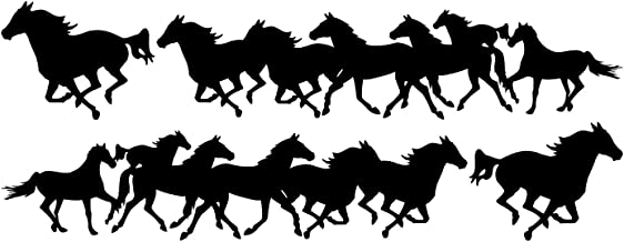 horse decals for vehicles