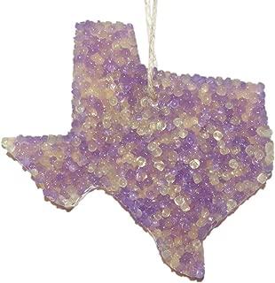 ChicWick Car Candle Lemon Lavender Texas Shape Car Freshener Fragrance