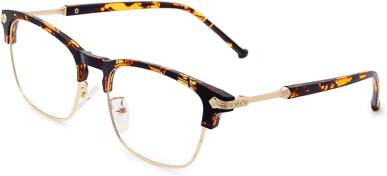 Galulas Clear Lens Glasses Vintage Eyeglasses Frame