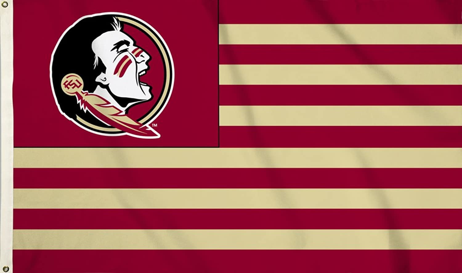 NCAA Florida State Seminoles Flag with Grommets 60 x 36in