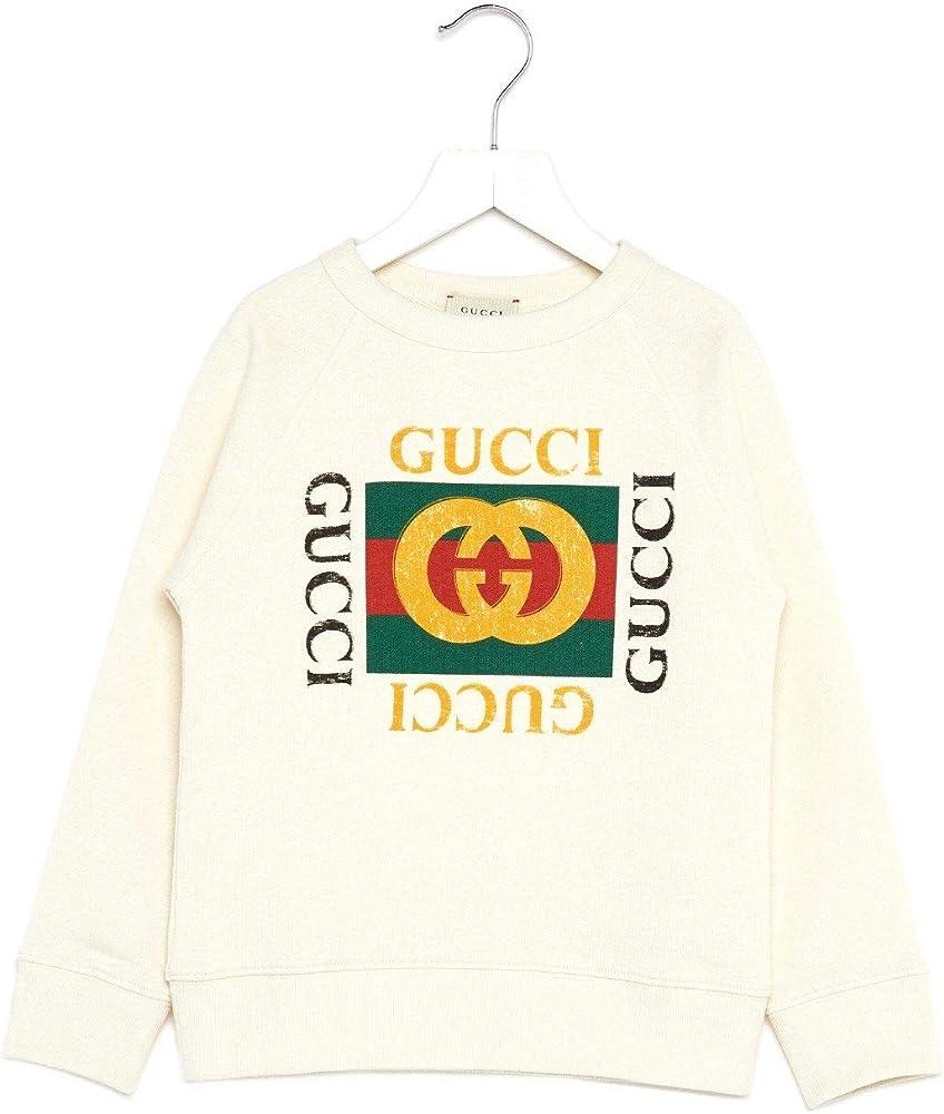 Gucci luxury fashion ragazzo felpa cotone 483878X3G979112