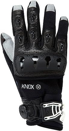 KNOX(ノックス) オフロードバイク用プロテクショングローブ 衝撃吸収・BOAシステム搭載 本革 ORSA OR3 BLACK SMALL/オルサ OR3 ブラック S 【日本正規代理店:ジャペックス】
