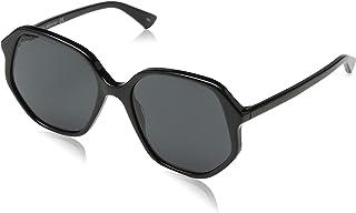 غوتشي نظارات شمسية للنساء - رمادي ، GG0258S_001_56