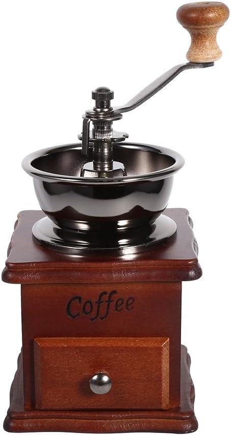 Fdit Retro Design Super sale period limited Coffee Bean Hand Manual Mini Mill Ranking TOP4 Home Grinder