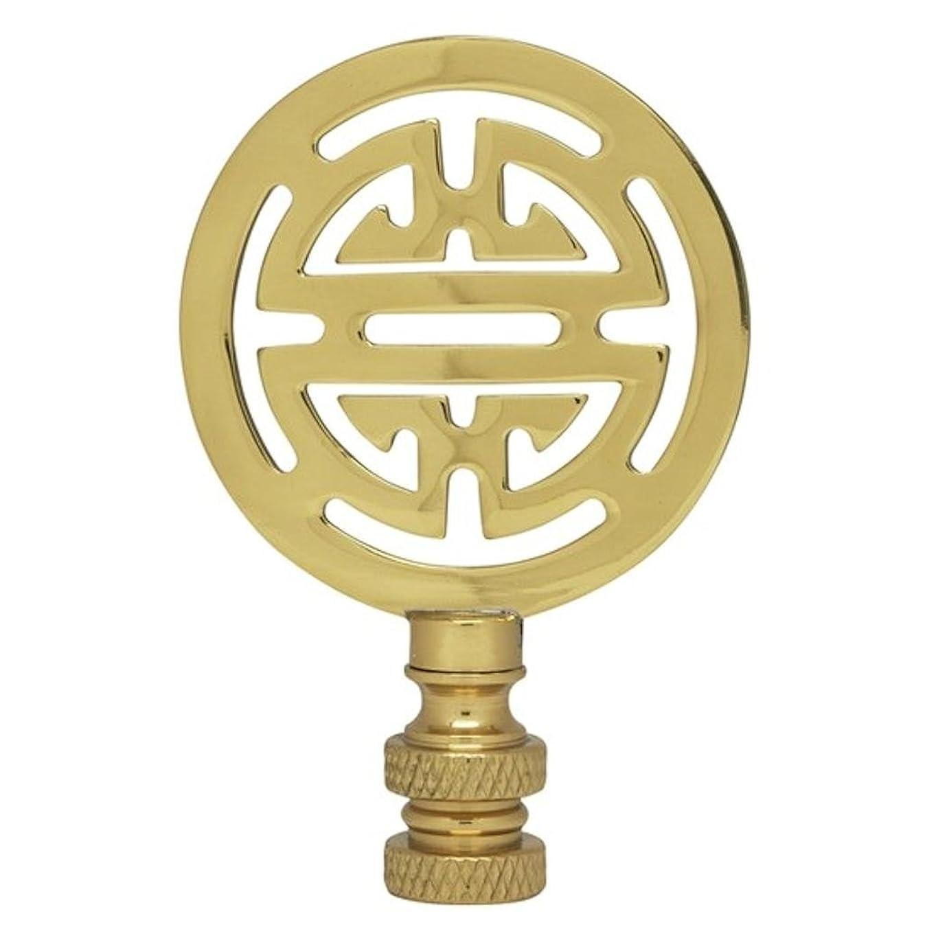 Satco Oriental Brass Finial model number 90-1747-SAT